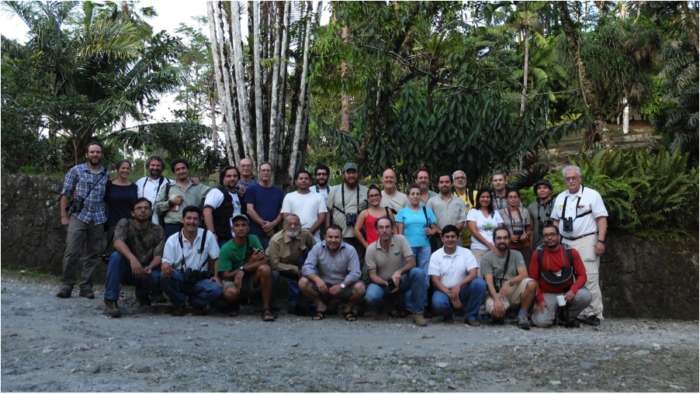 Central American Species Database network