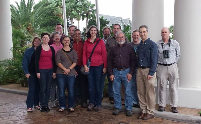 The Partners in Flight International Science Committee meets semi-annually to work on joint hemispheric-level bird conservation planning topics. In December 2016 we met in Port Aransas, TX. Photo by Becky Keller