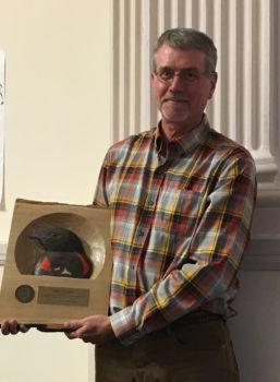 Dave Krueper with his 2016 PIF Award