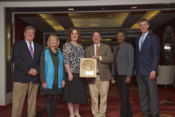Greg Shriver receives 2016 PIF Investigations Award on behalf of SHARP