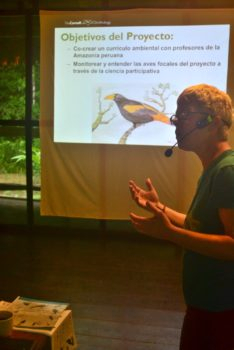 Conservation Workshop for Peruvian teachers in the Amazon
