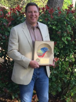 Jeff Raasch with 2015 PIF Leadership Award